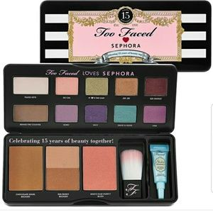 TOO FACED X SEPHORA 15 yrs. Of Beauty
